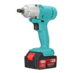 New 108VF 12800mA Lithium-Ion Battery Cordless Electric Wrench Drill Driver Kit