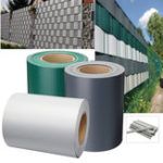 New 19x35m Garden PVC Fence Privacy Screen Roll Balcony UV Resistant Sunscreen Cover