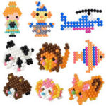 New 6500Pcs 30 Color Aqua Refill DIY Fuse Beads Water Bead Perler Sticky Kids Toys