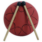 New Mebite 5 Inch Ethereal Drum Steel Tongue Percussion Musical Drum With Drum Stick Carry Bag