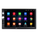 New 7 Inch 2 Din HD Car Radio MP5 Player Touch Screen GPS bluetooth Support Rear Camera with Remote Control
