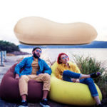 New 125x60cm Portable Bean Bag Lazy Sofa Adults Kids Beach Chair Lounger Lay Bag Couch Outdoor Travel