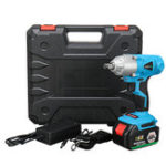 New 168TV 500Nm Cordless Electric Impact Wrench Drill LED Light 19800mAh Li-on Battery Power Tool