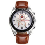 New Deffrun Business Style Decorate Three Dials Quartz Watches