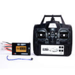 New 6.0 Function Mainboard + 2.4G Transmitter Remote Control System Set for Heng Long 1/16 Rc Car Tank Model