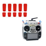 New 10 PCS LDARC Rubber Anti-slipping Stick Switch Cap for Frsky X9D Plus Flysky JR Radio Transmitter