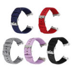 New Bakeey Colorful Nylon Canvas Replacement Watch Band Strap for Fitbit Charge 3 Smart Watch