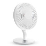 New USB Desktop Fan Mini Office Mute Fan Air Circulation Automatic Frequency with 2000mAh Battery Capacity