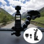 New Mount Bracket Glass Suction Cup Car Holder Camera Mount With Adapter For DJI OSMO POCKET