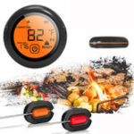 New Bluetooth Wireless Smart Meat Thermometer 2 Probes For IOS Android Cooking BBQ