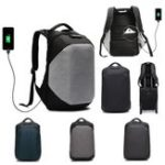 New 18L Men Anti-theft USB Backpack Rucksack Waterproof 15.6inch Laptop School Travel Shoulder Bag With Customs Lock
