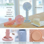New Portable Handheld Mini USB Desk Small Fan 3 Cooling Wind