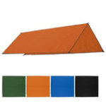 New 300x300cm Outdoor Camping Tent Sunshade Rain Sun UV Beach Canopy Awning Shelter Beach Picnic Mat Ground Pad