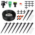 New 45pcs Drip Irrigation Kits Micro Irrigation Kits Distribution Tubing Hose DIY Garden Saving Water Automatic Mist Irrigation System