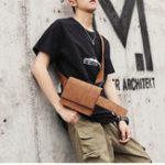New Men Fashion Faux Leather Hip Hop