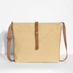 New Women Canvas Large Capacity Leisure Crossbody Bag