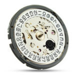 New High Accuracy Mechanical Automatic Wrist Watch Double Calendar Clock Movement