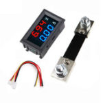 New 0.56″ Blue Red Dual LED Display Mini Digital Voltmeter Ammeter DC 100V 100A Panel Amp Volt Voltage Current Meter Tester