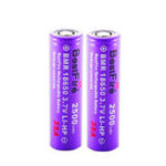 New 2PCS BestFire 18650 Battery 2500mAh 35A 3.7V Rechargeable Lithium Battery