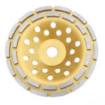 New 115/180mm Diamond Concrete Grinding Cup Wheel Disc Segment Masonry Granite Stone Angle Grinder Disc