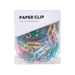 New Jordan&Judy JJ-YD0019 150 Pcs/Set Of 29mm Colorful Paper Clips Binder Clips Notes Classified Clips Children'S Student Stationery School Office Supplies
