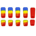 New 10 PCS LDARC Rubber Transmitter Anti-slipping Switch Sheath Cap Colorful for Flysky JR Radio Transmitter