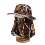 New Mens Cotton Face Protection Bucket Hat Outdoor Fishing Hat