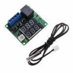 New 10pcs Geekcreit® W1209S DC 12V Mini Thermostat Regulator -50 to 120℃ Digital Temperature Controller Module with Display