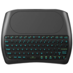 New OEM D8 Pro Plus i8 Mini Wireless Keyboard English Russian Version with Touch Pad 2.4GHz 7 RGB Backlights for Android Smart TV PC Xbox