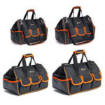 """New 13""""/15""""/17""""/19"""" Tool Bag Multifunction Hardware Pouch Electrician Heavy Duty"""
