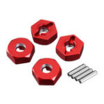 New Remo Upgrade Metal Hexagonal Coupler Adapter 12mm 1621 1625 1631 1635 1651 1655 RC Vehicle Models Parts