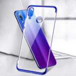 New Bakeey™ Plating Transparent Shockproof Soft TPU Back Cover Protective Case for Xiaomi Redmi 7