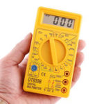 New ALL SUN DT830B 1000V 10A LCD Portable Digital Multimeter AC/DC Ammeter Voltmeter Ohmmeter Electrical Tester