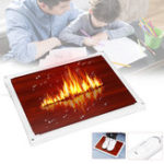 New 220V 100W Electric Foot Heat Mat Heating Carbon Crystal Foot Warmer Heater