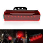 New XANES® TL31 620nM Bike Tail Light USB Rechargeable IPX5 Waterproof 5 Modes Bike Lamp Ultralight Warning Night Light