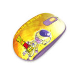 New AKKO Smart 1 Dragon Ball Super 2.4G Wireless Golden Frieza Optical Mouse for Laptop or PC