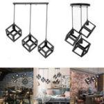 New Vintage Style Loft Iron Metal Chandelier Light Fixture Pendant Ceiling Lamp