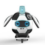 New FINECO FX-J01 CoolBO Soccer Football Smart Voice Recognition Touch Control Obstacle Avoidance Sing Dance RC Robot Toy