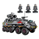 New SEMBO 107005 CN171 The Wandering Earth Series Medium-Sized Personnel Carrier Assembled Blocks Toys