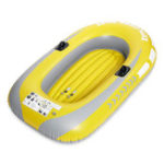 New Inflatable Boat Kayak Canoe 2 Person 130KG Rowing Air Drifting Diving Fishing Wear-Resistant
