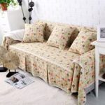 New Sofa Cover Couch Slipcover Cotton Blend 1-4 Seater Sofa Protector Chair Covers Pet Dog