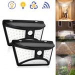 New Solar Power 68 LED Wall Light PIR Motion Sensor Waterproof Outdoor Garden Yard Security Lamp