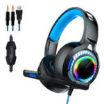 New Gaming Headphone LED Light 7.1 USB Headset With Noise Isolation Mic for PS4 XBOX Laptop