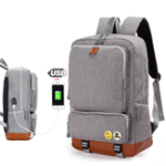 New Business Backpack USB Charging Backpacks Mens Shoulder Bag Laptop Bag Casual Travel Backpack College Bag