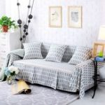New Sofa Cover Couch Slipcover Cotton Blend 1-4 Seater Pet Dog Sofa Protector Chair Covers