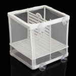 New Aquarium Fish Tank Guppy Breeding Breeder Baby/Fry Separation Net Trap Box Hatchery