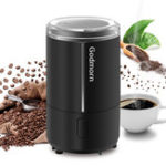 New Electric Coffee Grinder Espresso Grinder One Touch Multi-function Bean Grinder Auto Shut Off & Overheating Protection