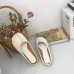 New Women split Toe  Comfortable Lazy Slippers