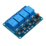 New 3pcs Geekcreit® 24V 4 Channel Relay Module For Arduino PIC ARM DSP AVR MSP430
