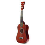 New 23 Inch 6-String Brown Basswood Ukulele Mini Musical Instrument For Children